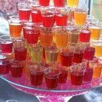 Алкогольне желе - нестандартний десерт для вечірки