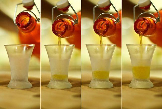 Апельсинова горілка - настоянка на цедрі і м`якоті апельсина