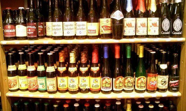 Культура вживання пива в Бельгії