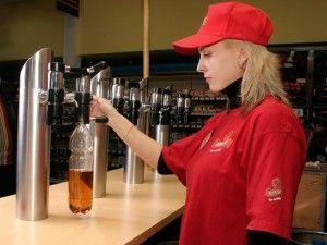 продавець пива