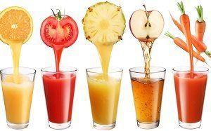 Склянки з соком