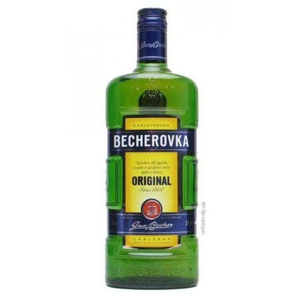 Чеська настоянка на спирту бехеровка