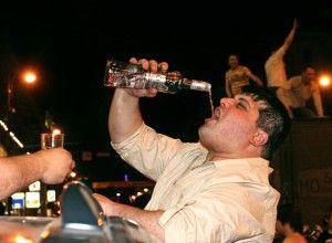 надмірне вживання алкоголю