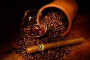 дижестив з кавою і сигарою