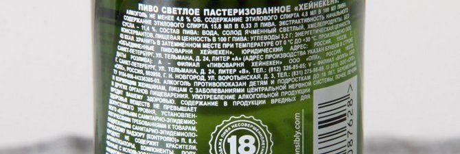 Що входить до складу пива?