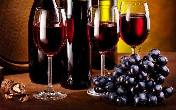 Дієта з сухим червоним вином - швидке схуднення
