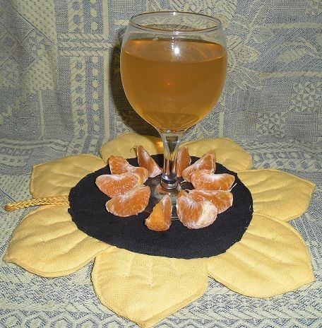 фото домашнього манадрінового вина