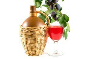 Домашнє сливове вино по нескладному рецептом