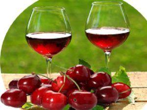 Домашнє вино з черешні