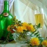 Домашнє вино з кульбаб
