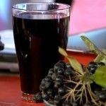 Домашні настоянки з черноплодки (чорної горобини)