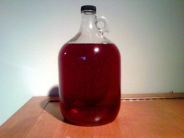 рецепт вина з ягід червоної смородини