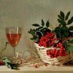 домашнє вино з червоної горобини