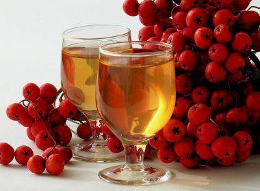 яблучно-рябиновое вино