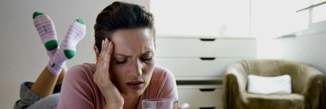 Головний біль від алкоголю - причини і способи уникнення