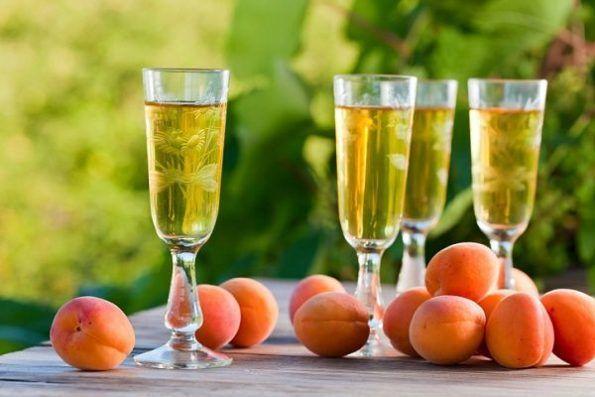 домашнє вино з абрикосів