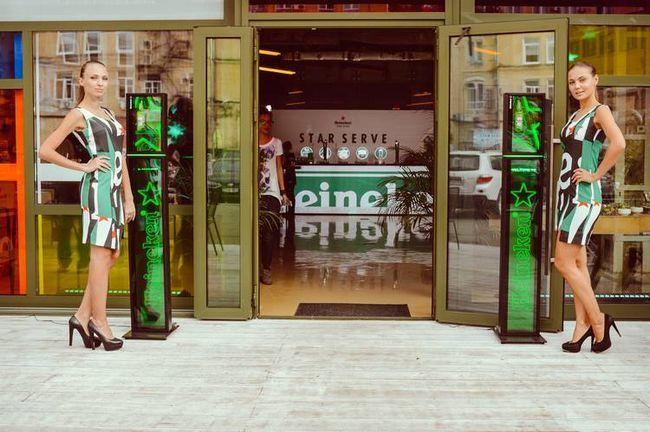 Heineken star serve. Мистецтво розливу. Без кордонів