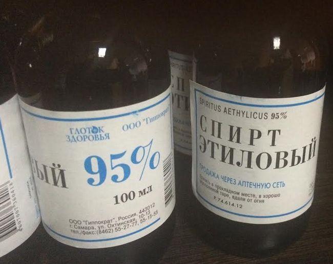 Формула, виробництво і застосування спирту питного