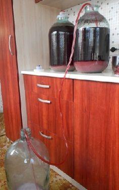зняття вина з осаду (фото)