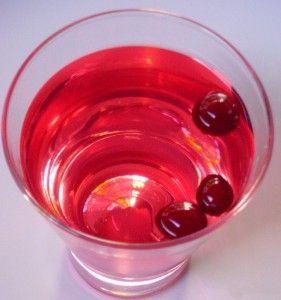 Як приготувати журавлинний настоянку на спирту