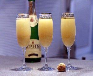 Як приготувати коктейлі з шампанським