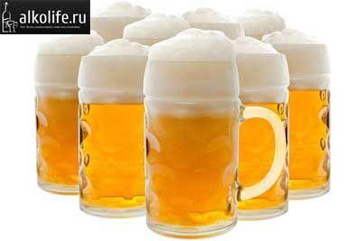 келихи з пивом