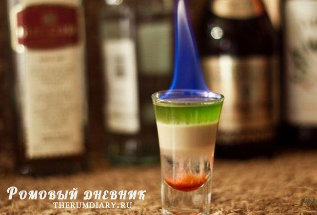 Коктейль хіросіма - легендарний і жахливий pousse cafe-дрінк