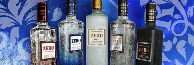 Лідер продажів алкогольних напоїв - горілка «zero»