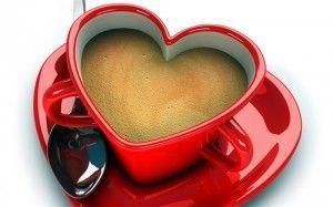 кава в гуртку-сердечком