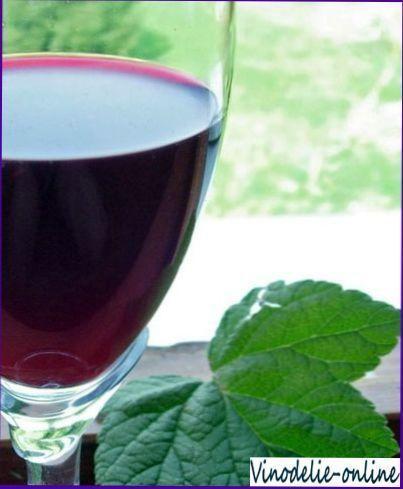 Рецепт смородинового вина