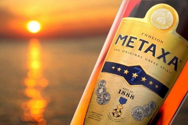 Метакса - шовковий бренді з греції