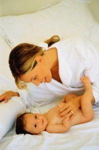 Жінка і дитина
