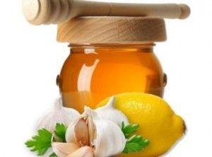 Настоянка часник мед лимон