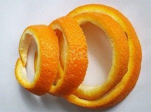 Настоянка на основі апельсинових кірок
