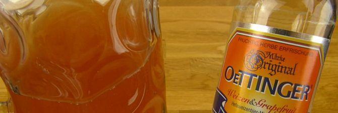 Німецький пивний бренд «oettinger weiss»