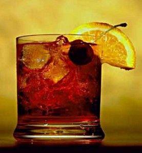 коктейль в склянці олд фешн