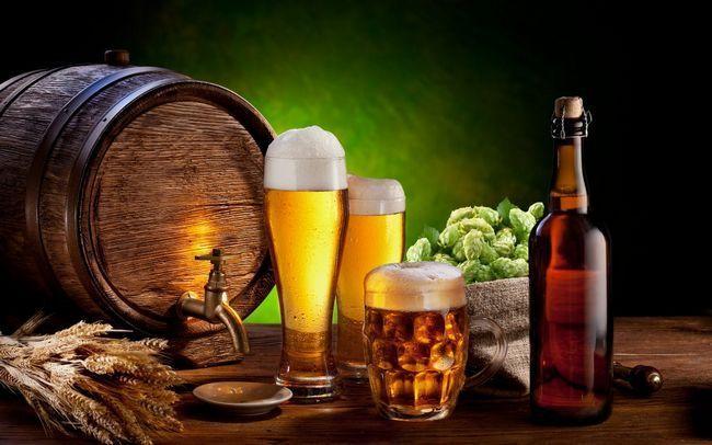 Корисні речовини і вітаміни в пиві