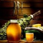 Користь і шкода вживання пива до, після і під час лазні