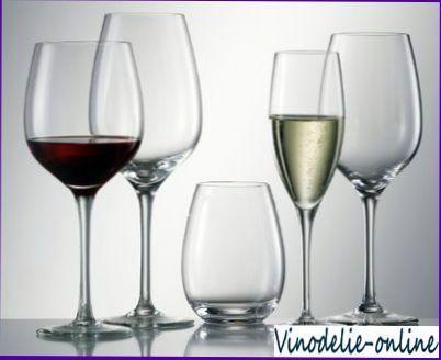 Посуд і подача вина