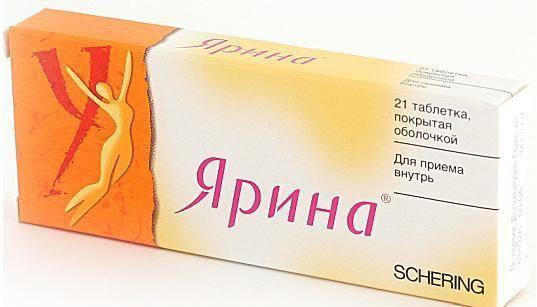 Протизаплідний препарат ярина і алкоголь