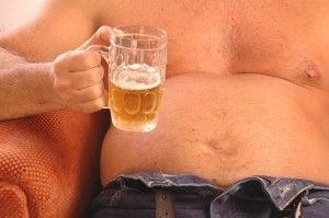 Чи зростає від пива живіт?