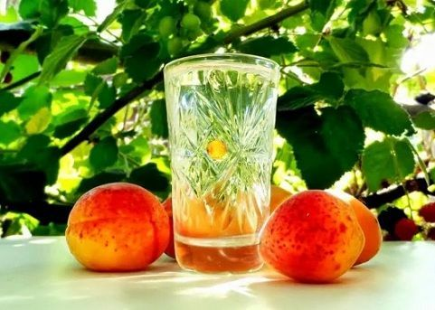 фото абрикосового самогону