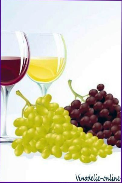 Рецепт виноградної наливки