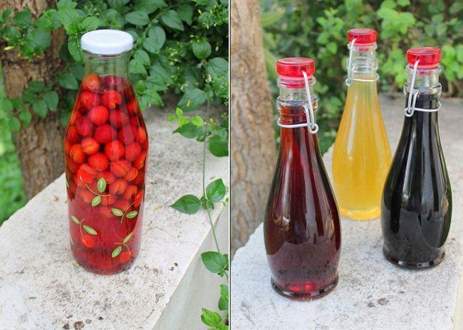 Старовинний спосіб приготування вишневого лікеру