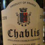 Шаблі (chablis) - найпівнічніша вино бургундії