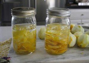 Солодкі лимонні наливки на горілці