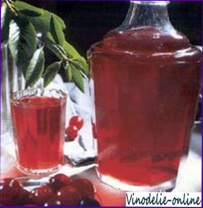 Солодке вишневе вино