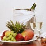 Поєднання шампанського з напоями та стравами