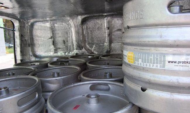 Зберігання пива в кегах