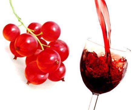 вино з червоної смородини